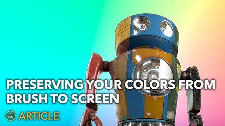 Colorspace in Mari: Preserving Your Colors from Brush to Scr...