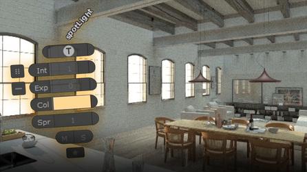 Customizing the Light Parameter Widget