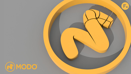 Modo 15.1 - Create Complex 3D Shapes from 2D Curves with Cur...
