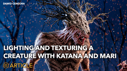 Lighting and Texturing Workflow for Creatures with Mari and...