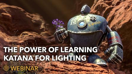 The Power of Learning Katana for Lighting