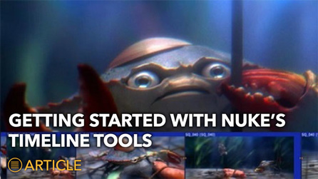 Getting Started With Nuke's Timeline Tools