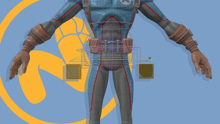 Character Rigging in Modo Part 12: Global Controls and Clean...