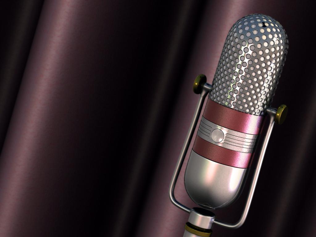 Portfolio - That old time radio mic 2 | Foundry Community